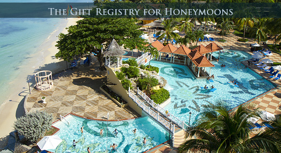 Jewel Resorts Gift Registry for Honeymoons